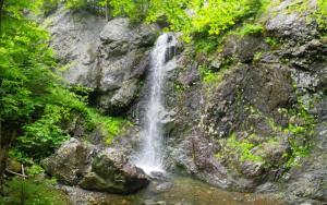 Pano of Hemlock Brook Falls